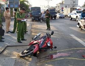 Nam công nhân tử vong sau va chạm với xe tải trên đường đi làm
