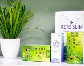 Giảm béo hiệu quả, thon thả đón Tết với bộ sản phẩm Keto Slim công nghệ Nhật Bản