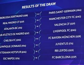 Real Madrid đại chiến Man City, Chelsea đối đầu Bayern Munich