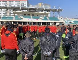 U23 Việt Nam đá giao hữu với U23 Bahrain trước giải U23 châu Á