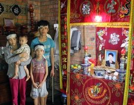 3 đứa trẻ bơ vơ đến tội nghiệp sau cái chết đau lòng của người cha