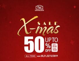 'Xmas Sale' 20,21,22/12 - Đại tiệc sale hot nhất năm của LOCK&LOCK Vietnam nhân dịp Giáng sinh