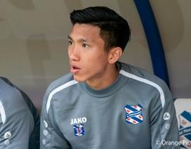 HLV Heerenveen chưa tính việc để Văn Hậu ra sân ở giải Hà Lan