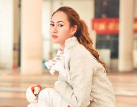 Chuyện ít kể về Tết của hot girl đội tuyển đấu kiếm Việt Nam
