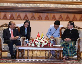 Thủ tướng Nguyễn Xuân Phúc hội kiến Chủ tịch Quốc hội Myanmar