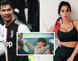 Xúc động trước cử chỉ tình yêu ngọt ngào mà C.Ronaldo dành cho bạn gái