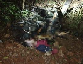 Phát hiện thi thể nam thanh niên bị đốt cháy bên cạnh xe máy