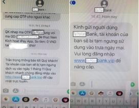 Cảnh báo thủ đoạn mới của tội phạm giả mạo tin nhắn thương hiệu