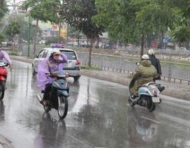 Ảnh hưởng không khí lạnh, ngày mai Hà Nội mưa rét
