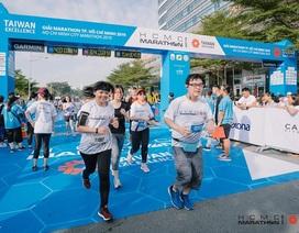 Giải marathon TPHCM khai mạc đầu năm mới