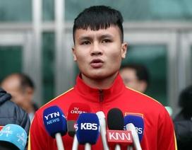 """Quang Hải: """"Toàn đội sẽ giành kết quả tốt nhất ở giải U23 châu Á 2020"""""""