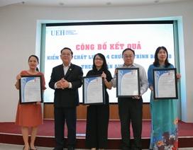 Thêm 4 ngành đào tạo ở ĐH Kinh tế TPHCM đạt chuẩn AUN