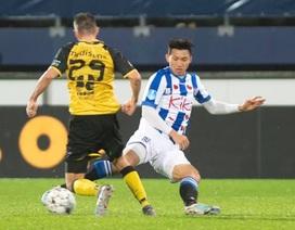 Văn Hậu nhận thẻ vàng trong ngày Heerenveen chiến thắng ở Cúp Quốc gia Hà Lan