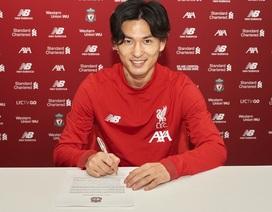 Liverpool chính thức chiêu mộ tiền đạo Nhật Bản