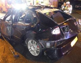 Ô tô nổ như bom vì một sai lầm của tài xế