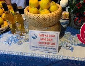 Cam Xã Đoài 100.000 đồng/quả, dân Hà Nội muốn ăn cũng không có hàng