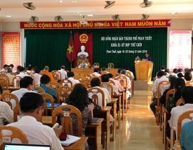 Bãi nhiệm chức vụ Chủ tịch HĐND TP Phan Thiết