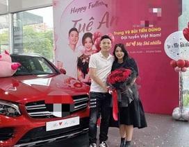 Sao bóng đá Việt đua nhau tặng xế sang bạc tỷ cho người thân
