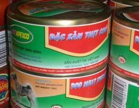 Dân mạng tranh cãi kịch liệt về thịt chó đóng hộp ở Ninh Bình