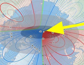 Cực từ Trái Đất dịch chuyển nhanh về phía Nga khiến giới khoa học đau đầu