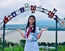"""Nữ sinh lớp 9 trở thành """"Công dân trẻ tiêu biểu TPHCM"""" 2019"""