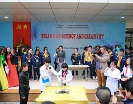 Trầm trồ, hứng thú với ngày hội STEAM ở một trường học Hà Nội