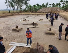 Phát lộ bãi cọc nhà Trần gần nghìn năm tuổi: Quan trọng là bảo tồn và phát huy!