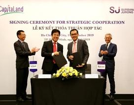 CapitaLand hợp tác Surbana Jurong phát triển đô thị thông minh bền vững