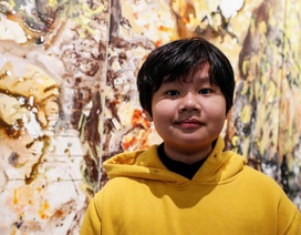 Báo Anh viết về họa sĩ người Việt 12 tuổi mở triển lãm ở Mỹ