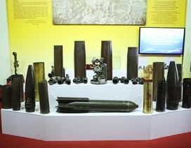 Hàng nghìn kỷ vật chiến tranh được trưng bày tại Thái Nguyên