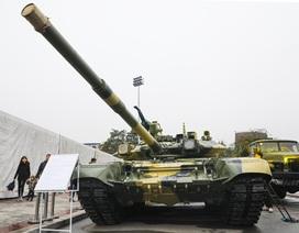Hàng loạt vũ khí tối tân được Bộ Quốc phòng trưng bày tại Thái Nguyên