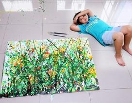 Tổ chức triển lãm tranh tại Mỹ, thần đồng hội họa Việt kiếm được hơn 3,4 tỷ đồng