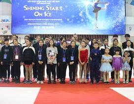 Gần 50 VĐV tranh tài giải trượt băng nghệ thuật Việt Nam 2019