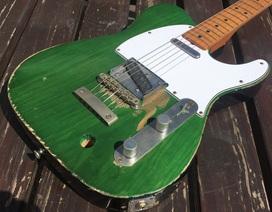 Một cây guitar tăng giá 1.600 lần sau 50 năm
