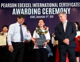 Học sinh Việt đạt điểm cao nhất toàn thế giới môn Toán THCS chứng chỉPearson Edexcel