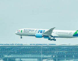 """Cận cảnh Boeing 787-9 Dreamliner """"Ha Long Bay""""- máy bay thân rộng đầu tiên của một hãng hàng không tư nhân Việt Nam"""