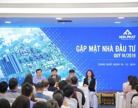 Nhà Đầu tư đánh giá cao tiến độ dự án Dung Quất của Tập đoàn Hòa Phát