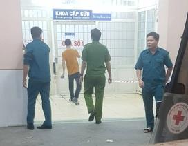 Nam bệnh nhân nghi nổ súng tự sát trong bệnh viện