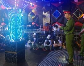Phát hiện gần 60 đối tượng phê ma túy trong quán karaoke