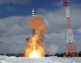 """Nga sẵn sàng cho Mỹ """"mục sở thị"""" siêu tên lửa """"quỷ satan"""""""