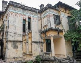 Tạm ngừng hạ giải ngôi biệt thự cổ 128C Đại La - Trạm phát sóng Bạch Mai