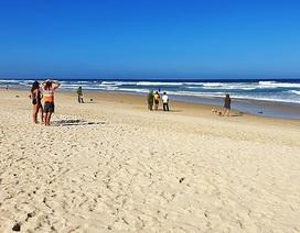 Tìm thấy thi thể du khách người Anh mất tích khi tắm biển ở Quảng Nam