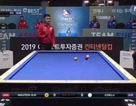 Ba cơ thủ Việt Nam gây sốc tại giải bi-a Liên lục địa Á - Âu 2019