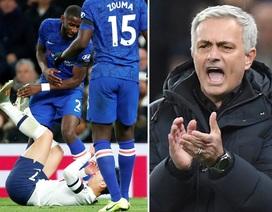 Son Heung Min nhận thẻ đỏ, Mourinho trút giận lên ngôi sao Chelsea