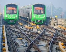 Tàu đường sắt Cát Linh - Hà Đông được cấp giấy chứng nhận tạm thời