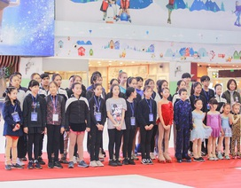 Những khoảnh khắc ấn tượng trong ngày đầu Giải trượt băng nghệ thuật Cúp Vincom
