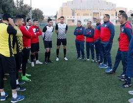 U23 Jordan tập luyện tại Malaysia, chờ đấu U23 Việt Nam
