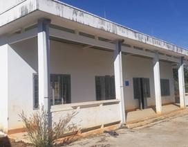 Điểm trường xây hơn 1 tỷ đồng vừa học được năm đã bị bỏ hoang