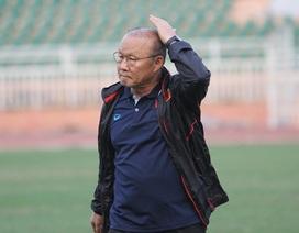 HLV Park Hang Seo tâm tư trong ngày U23 Việt Nam tập trung cho giải U23 châu Á