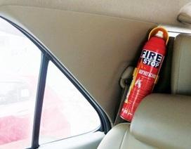 """""""Không cần thiết quy định các điều kiện an toàn PCCC với ô tô 4 chỗ ngồi"""""""